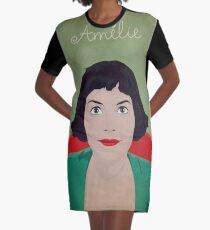 Amelie illustration Vestido camiseta