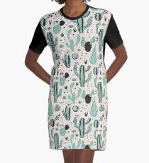 Cacti Graphic T-Shirt Dress