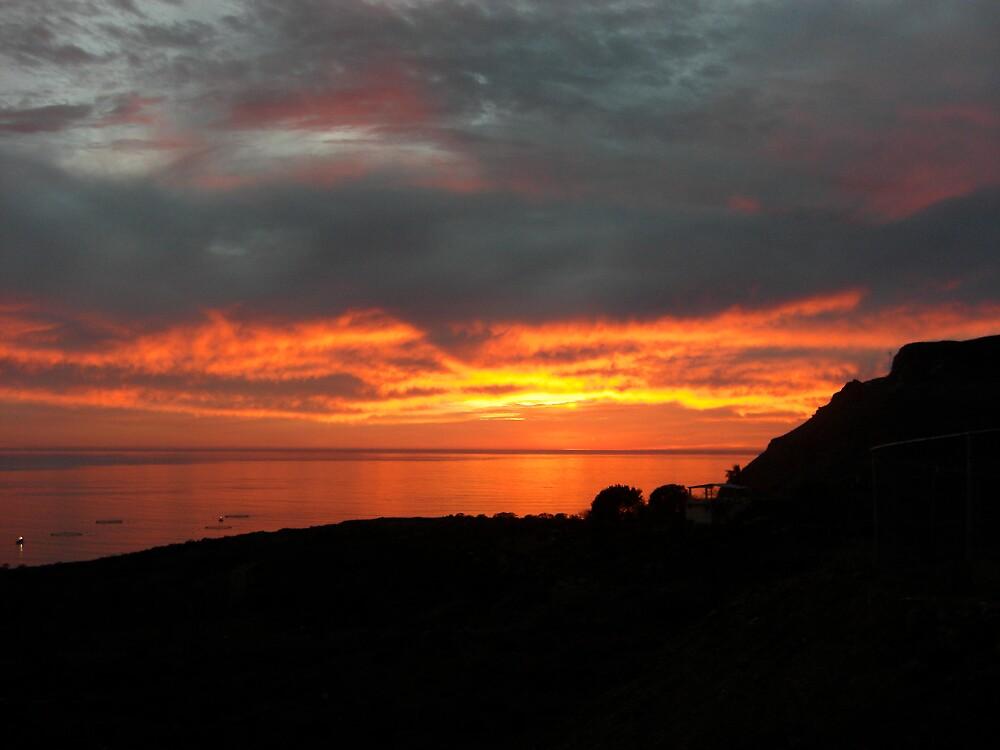 Mexico Sunset by Timoteo Delgado
