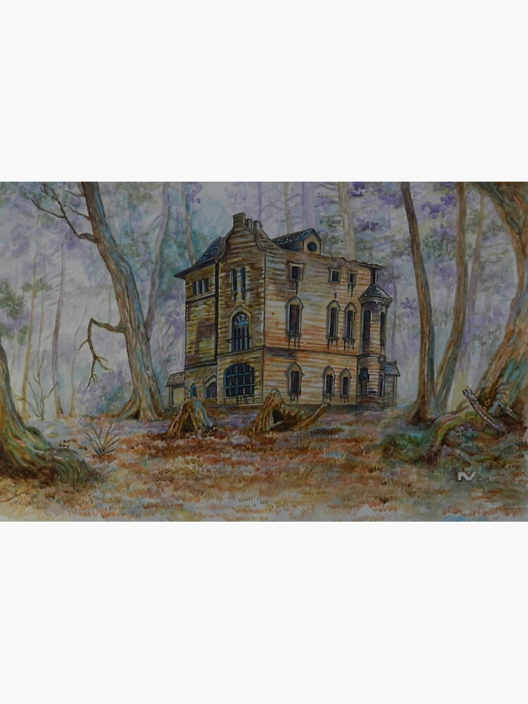 Haunted House 3 | Greeting Card