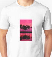 Pink Sunset Unisex T-Shirt