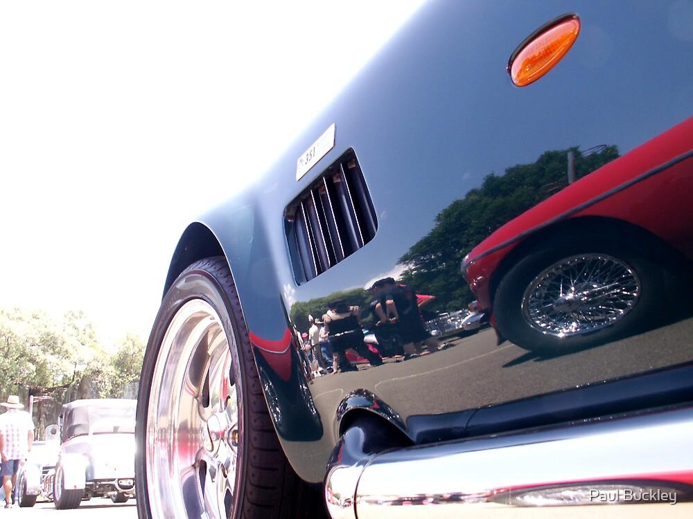 mirror car by Paul Buckley