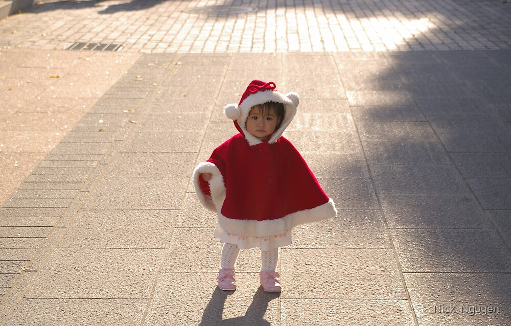 Tokyo Ueno Park - Am I Beautiful OR am I Just Darn Cute !!?? by Nick  Nguyen