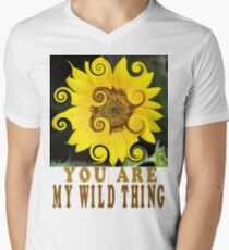 You Are My Wild Thing Mens V-Neck T-Shirt