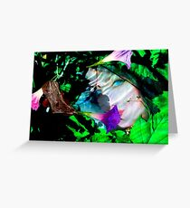 Nature under water Greeting Card