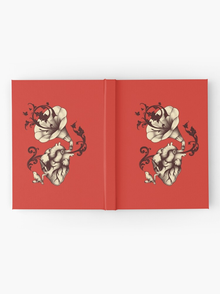 Alternate view of Listen to your heart Hardcover Journal