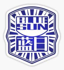 Firefly / Serenity inspired Blue Sun design. Sticker