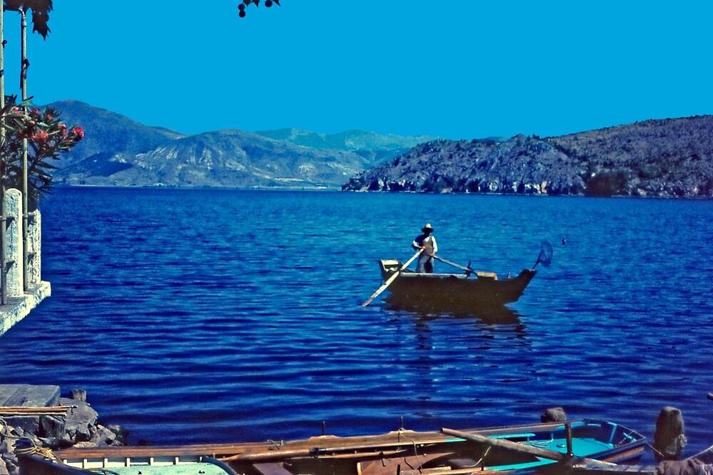 Fishing, N. Greece by Priscilla Turner