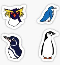 Set of Penguins Sticker