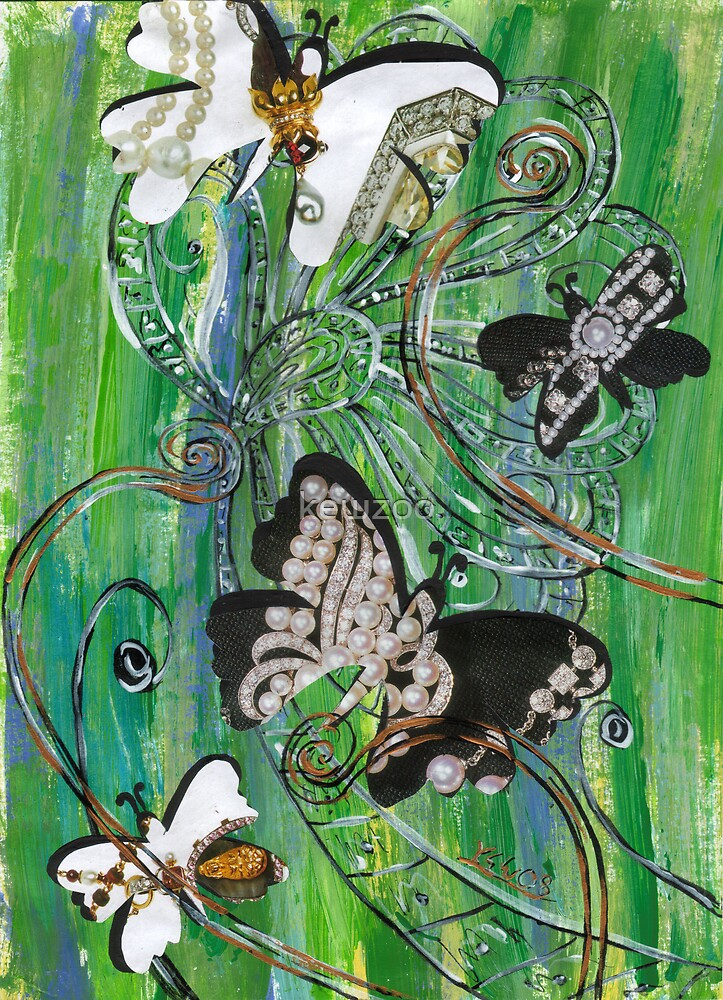 Butterflies 1 by kewzoo