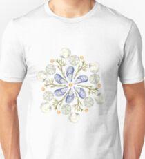 Tide Pool Beach Mandala 2 - Plum - Watercolor Unisex T-Shirt
