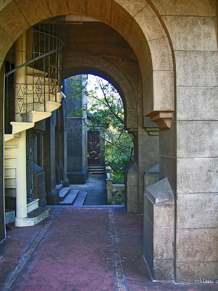 Through an Archway - Portguese Church, Macau by mklau