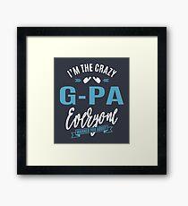 Crazy G-Pa Framed Print