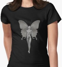 The Silver Fairy Womens Fitted T-Shirt