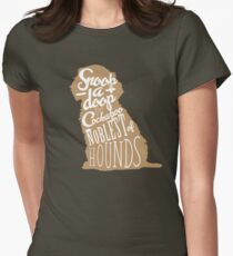 Snoop-a-Doop the Cockapoo Womens Fitted T-Shirt