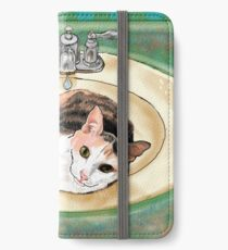 Catrina in the Sink iPhone Wallet/Case/Skin
