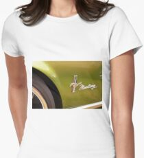 Little brown pony car Womens Fitted T-Shirt