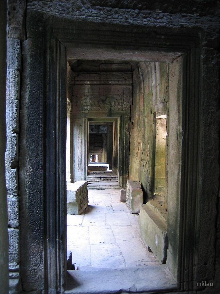 Arches we have all walked thru over time - Ankor Wat, Cambodia by mklau