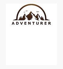 Adventurer Journey Travel Explore Earth Outdoors  Photographic Print