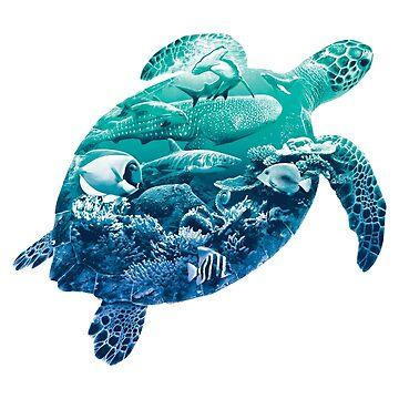 Ocean Life Sea Turtle de designbydinny