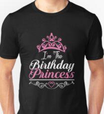 I'm the Birthday Princess Royalty T-Shirt Unisex T-Shirt