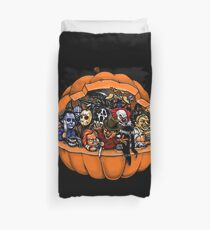 Pumpkin Scary Duvet Cover