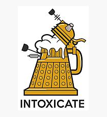 Dalek Intoxicate Photographic Print