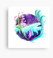 Earth, Sky, and Sea Canvas Print