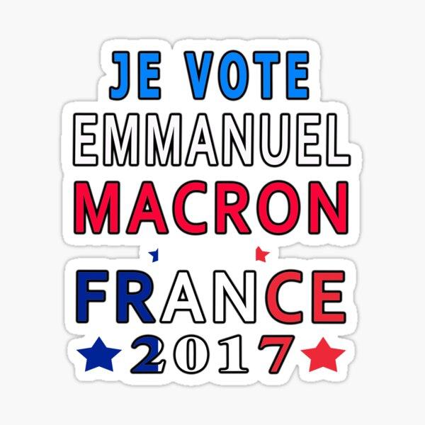 Je vote Emmanuel Macron Sticker