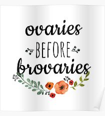 Ovaries Before Brovaries Poster