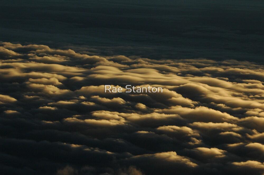 westward clouds by Rae Stanton