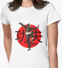 Kung Fu Kenny (Kendrick Lamar) Women's Fitted T-Shirt