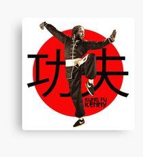 Kung Fu Kenny (Kendrick Lamar) Leinwanddruck