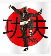 Kung Fu Kenny (Kendrick Lamar) Poster