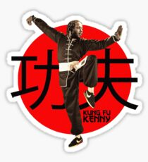 Kung Fu Kenny (Kendrick Lamar) Sticker