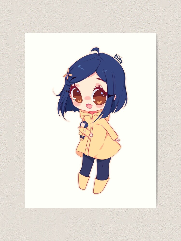 Coraline Art Print By Vanessanta Redbubble