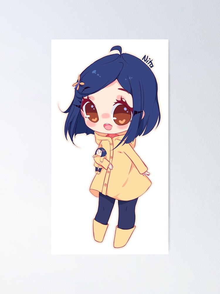 Coraline Poster By Vanessanta Redbubble