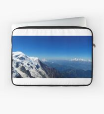 Panoramic View From Mont Blanc Laptop Sleeve