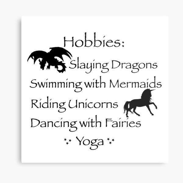 Hobbies  Metal Print