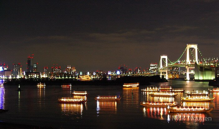 Tokyo - Rainbow Bridge 2004 by Nick  Nguyen