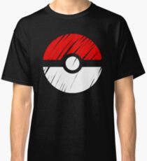 Pokeball - Pokemon Go Color Impression Series Classic T-Shirt
