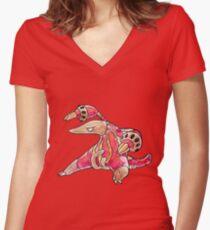 Heatmor Women's Fitted V-Neck T-Shirt
