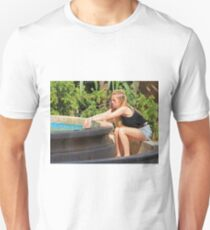 Girl in a Fountain Unisex T-Shirt