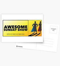 Podcast logo Postcards
