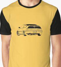 honda crx yellow Graphic T-Shirt