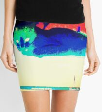 Alternate Lazy Voldemort Mini Skirt