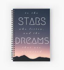 Sterne und Träume Spiralblock