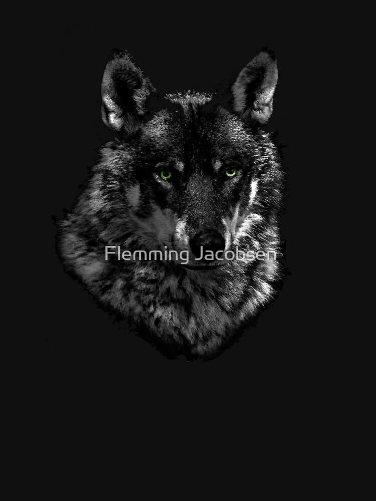 Black wolf by fljac