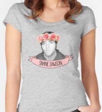 Shane Dawson Flower Crown  Women's Fitted Scoop T-Shirt