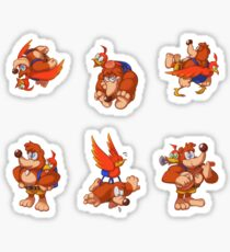 Banjo Kazooie (Stickers) Sticker